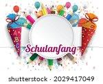 german text schulanfang ...   Shutterstock .eps vector #2029417049