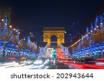 Avenue Des Champs Elysees With...