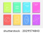 collection of bright colorful... | Shutterstock .eps vector #2029574843
