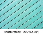 Blue Colored Wooden Surface