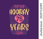 birthday anniversary event... | Shutterstock .eps vector #2029712399