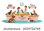 veterinary clinic marketing... | Shutterstock .eps vector #2029726769