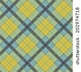 abstract pattern with plaid... | Shutterstock .eps vector #202974718