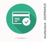 verification icon. simple... | Shutterstock .eps vector #2029904519