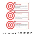 3 steps to your goal concept ...   Shutterstock .eps vector #2029929290