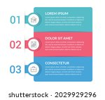 infographic template with 3...   Shutterstock .eps vector #2029929296