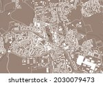 map of the city of amadora ... | Shutterstock .eps vector #2030079473