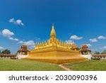 Vientiane Laos  City Skyline At ...