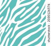 vector zebra pattern. seamless... | Shutterstock .eps vector #2030126576