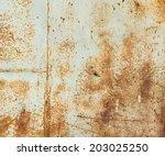 rust texture | Shutterstock . vector #203025250