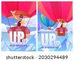 hot air balloons fest cartoon...   Shutterstock .eps vector #2030294489