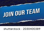 join our team word concept...