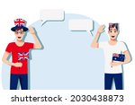 the concept of international... | Shutterstock .eps vector #2030438873