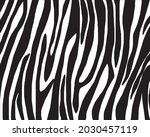 drawing zebra skin seamless... | Shutterstock .eps vector #2030457119