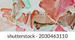 flower watercolor art...   Shutterstock .eps vector #2030463110