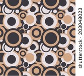 1950's seamless retro pattern   Shutterstock .eps vector #203048023