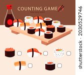 counting game. education kid in ...   Shutterstock .eps vector #2030529746