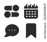ui essential icons set  ...
