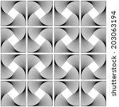 design seamless swirl movement...   Shutterstock .eps vector #203063194