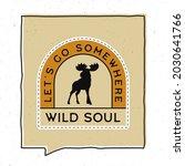 vintage adventure badge... | Shutterstock . vector #2030641766