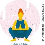 modern minimalist woman in... | Shutterstock .eps vector #2030656163