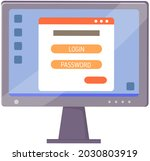 access management authorize...   Shutterstock .eps vector #2030803919