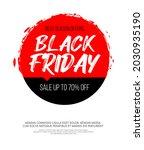 black friday inscription on...   Shutterstock .eps vector #2030935190