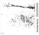 grunge black and white splashes ... | Shutterstock .eps vector #2031050453
