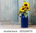 Bouquet Of Sunflowers  Copy...