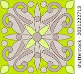 ornamental azulejo portugal... | Shutterstock .eps vector #2031222713