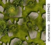 grass stone vector seamless...