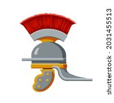 An Ancient Iron Roman Helmet...