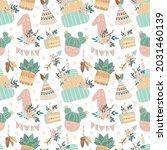 vector cartoon birthday... | Shutterstock .eps vector #2031460139