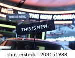 this is new | Shutterstock . vector #203151988