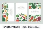 vegetables farm market food... | Shutterstock .eps vector #2031533363