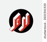 qu   2 letter code. isometric... | Shutterstock .eps vector #2031541520