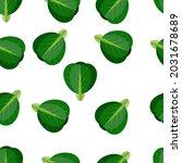 fresh vegetables seamless...   Shutterstock .eps vector #2031678689