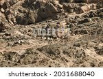 Luderitz Town Sign In The...