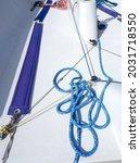 Sailing Boat Equipment. Mooring ...