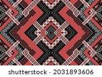geometric ethnic native pattern ... | Shutterstock .eps vector #2031893606