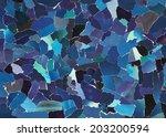 dark blue texture made from... | Shutterstock . vector #203200594