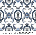 seamless luxury indian pattern. ... | Shutterstock . vector #2032056896