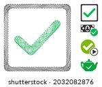 vector net checkbox. geometric...