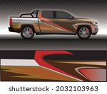 car livery wrap decal  rally... | Shutterstock .eps vector #2032103963