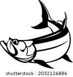 Tarpon Fish Logo Template....