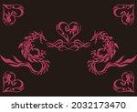 an illustration of tribal...   Shutterstock .eps vector #2032173470