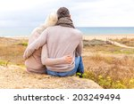 relaxing carefree the coast in... | Shutterstock . vector #203249494