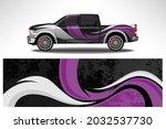wrap car vector design decal.... | Shutterstock .eps vector #2032537730