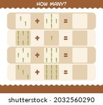 how many cartoon asparagus.... | Shutterstock .eps vector #2032560290