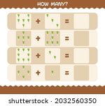 how many cartoon leek. counting ... | Shutterstock .eps vector #2032560350